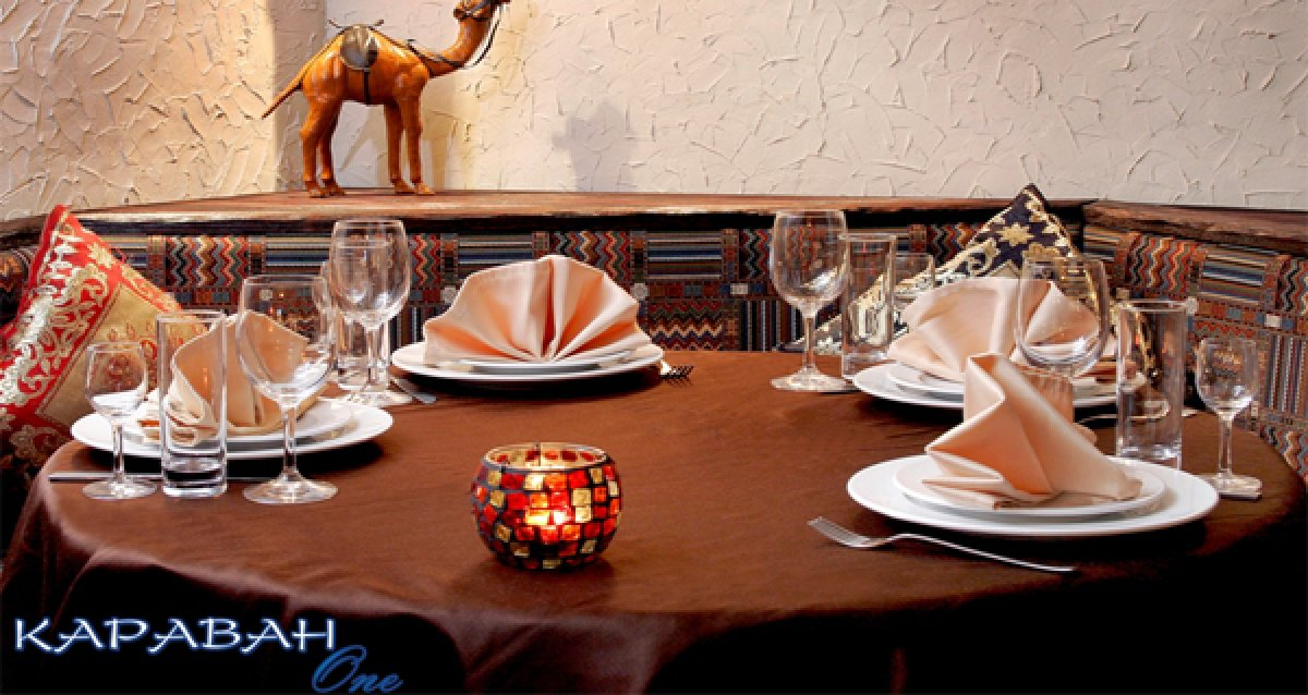 Восточное гостеприимство! Скидка 50% на все меню кухни в ресторане «Караван One»