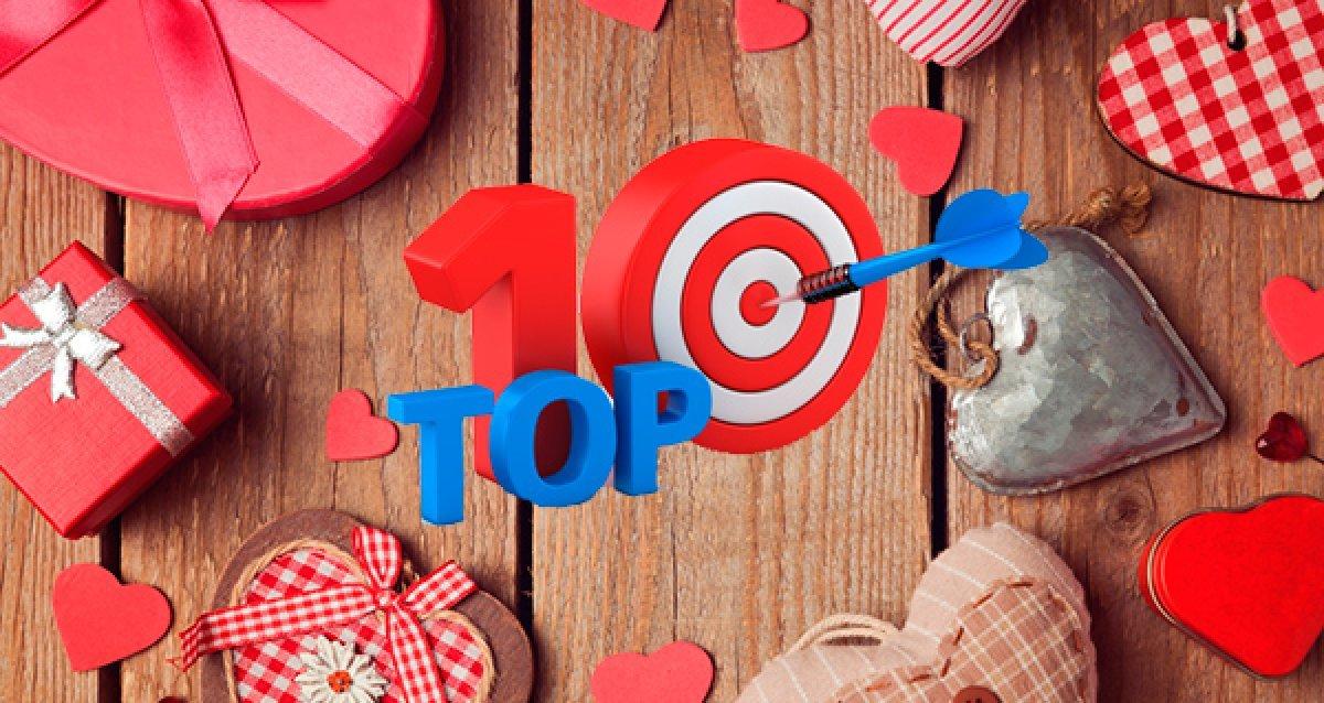 14 февраля: Топ-10 акций с подарками для любимых