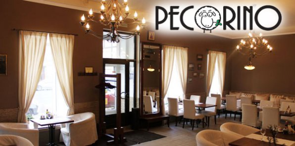 -50% на меню и напитки в ресторане Pecorino