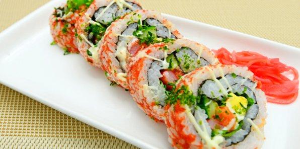 -50% на все меню и напитки в Sushi Point