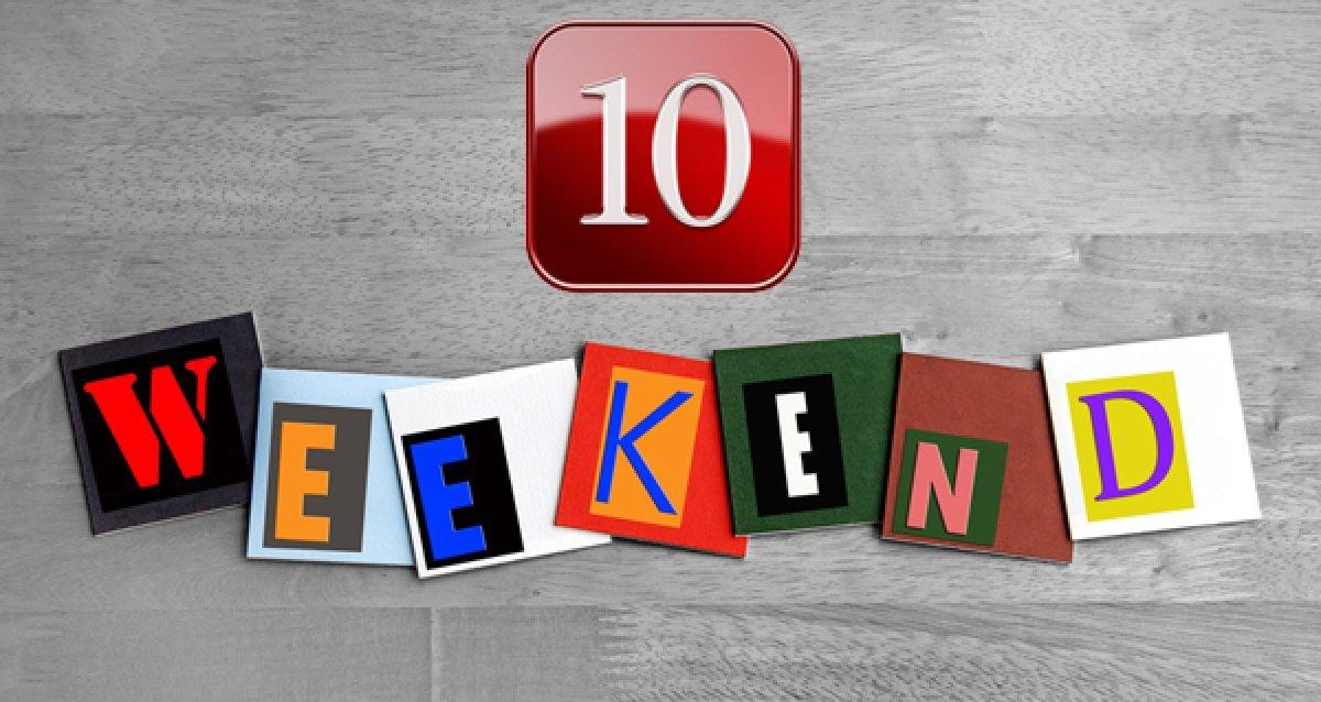 Нескучный уикенд: Топ-10 акций для выходных