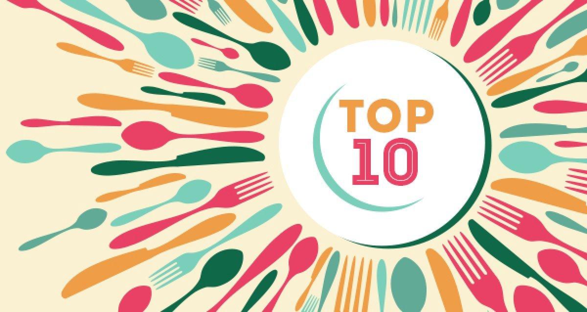 Культура еды: Топ-10 ресторанов