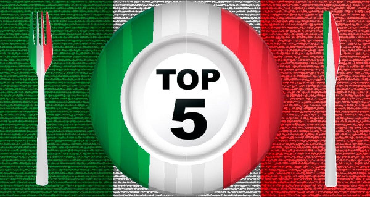 Топ-5 ресторанов с итальянской кухней