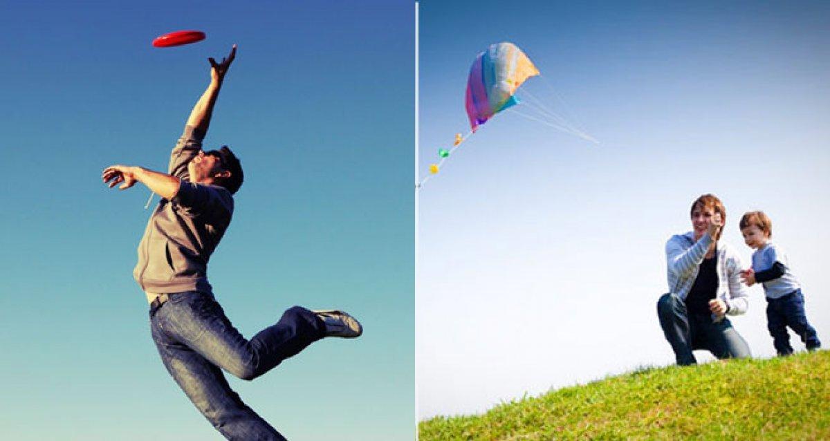 Летние развлечения: воздушные змеи и фрисби!