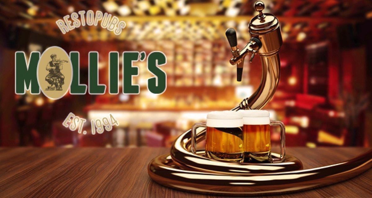-50% в пабе Mollie's Mews