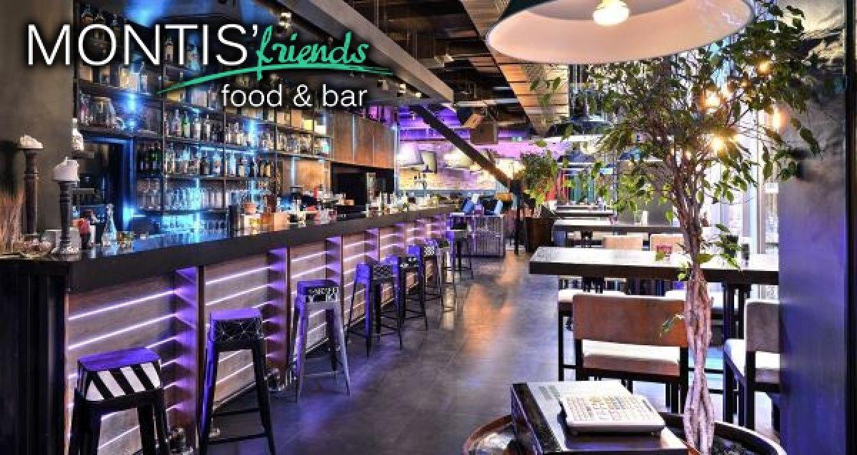 -50% на все меню в MONTIS'Friends Food&Bar. Новый уютный ресторан в центре Москвы!