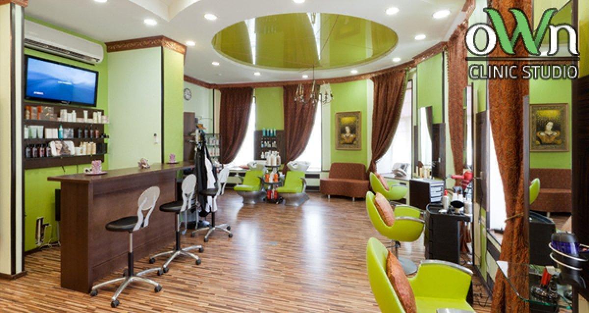 -83% на услуги для волос в OWN Clinic Studio