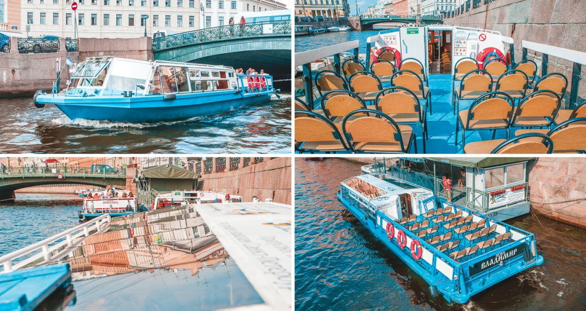 -50% на маршруты по рекам и каналам Санкт-Петербурга от компании «Аква-Экскурс»! Всего 350 р. за билет