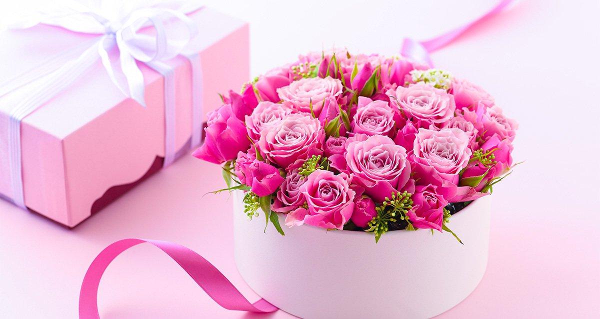 Сделать открытку, открытки с днем рождения с цветами красивые в коробке