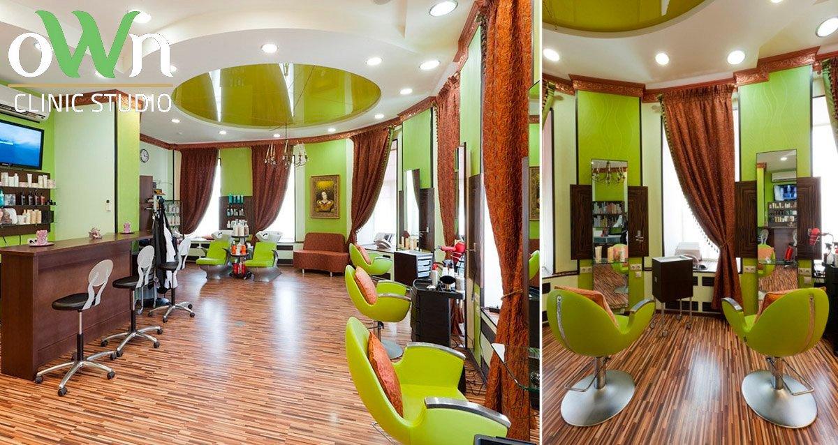 -83% на услуги для волос в центре города