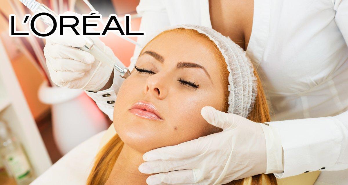 -89% на косметологию в студии L'OREAL
