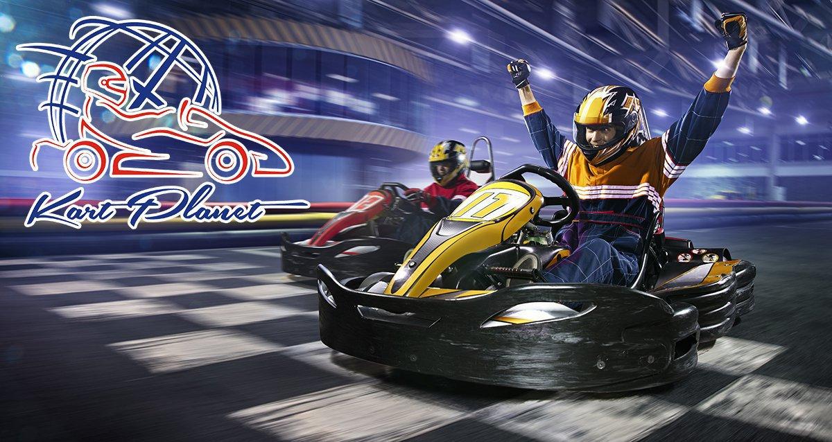 -50% на заезды для детей и взрослых в KartPlanet
