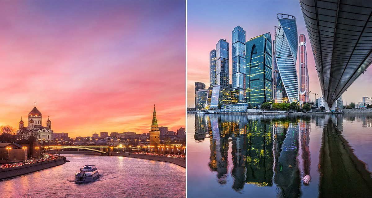-60% на круиз для двоих и вечеринку в «Москва-Сити»