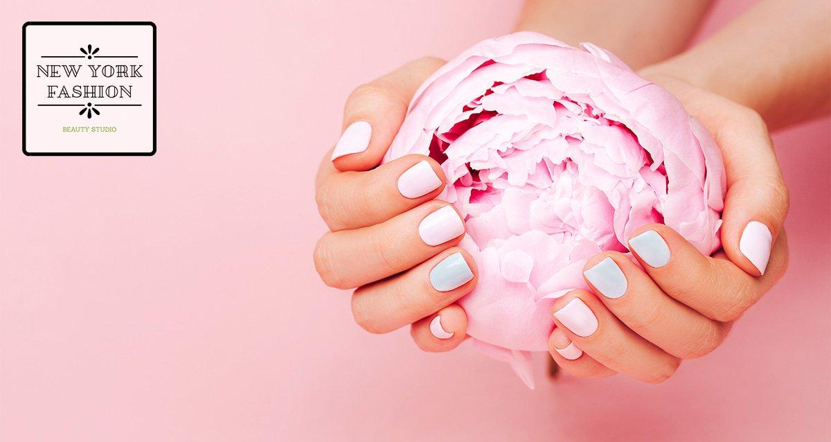 -80% на ногтевой сервис в студиях New York Fashion