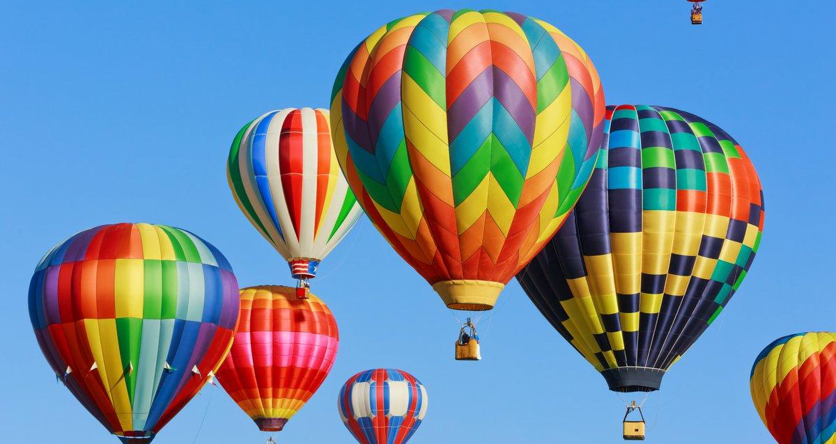 -50% на полет на воздушном шаре