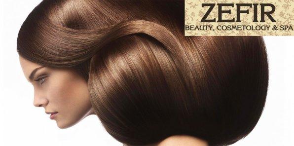 -65% на услуги для волос в центре города