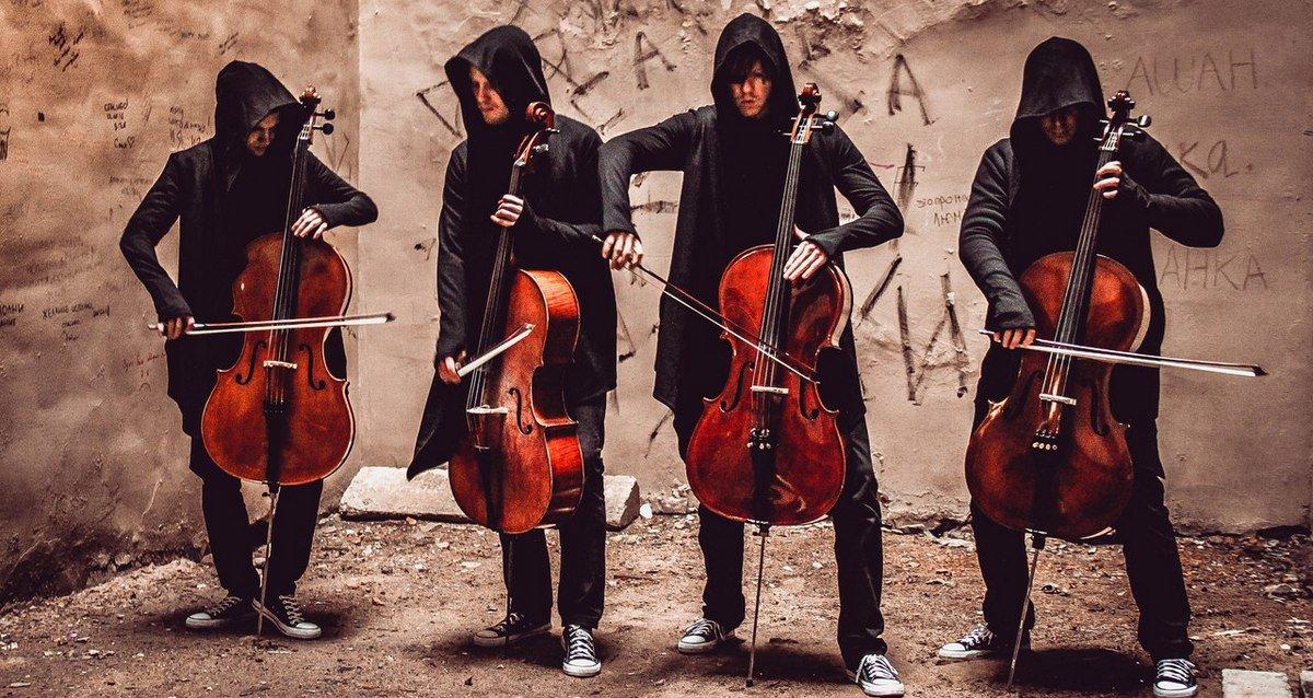 -30% на билеты на концерт «Мировые рок-хиты на виолончелях»