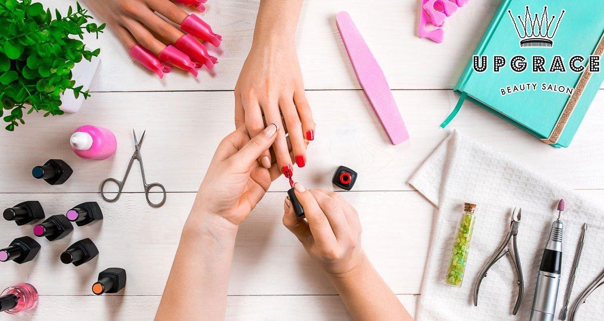 -80% на ногтевой сервис в мастерской красоты Up Grace