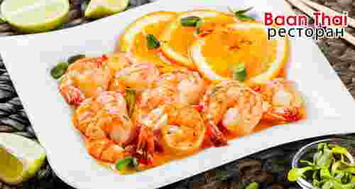 Скидка 40% в ресторане тайской кухни Baan Thai
