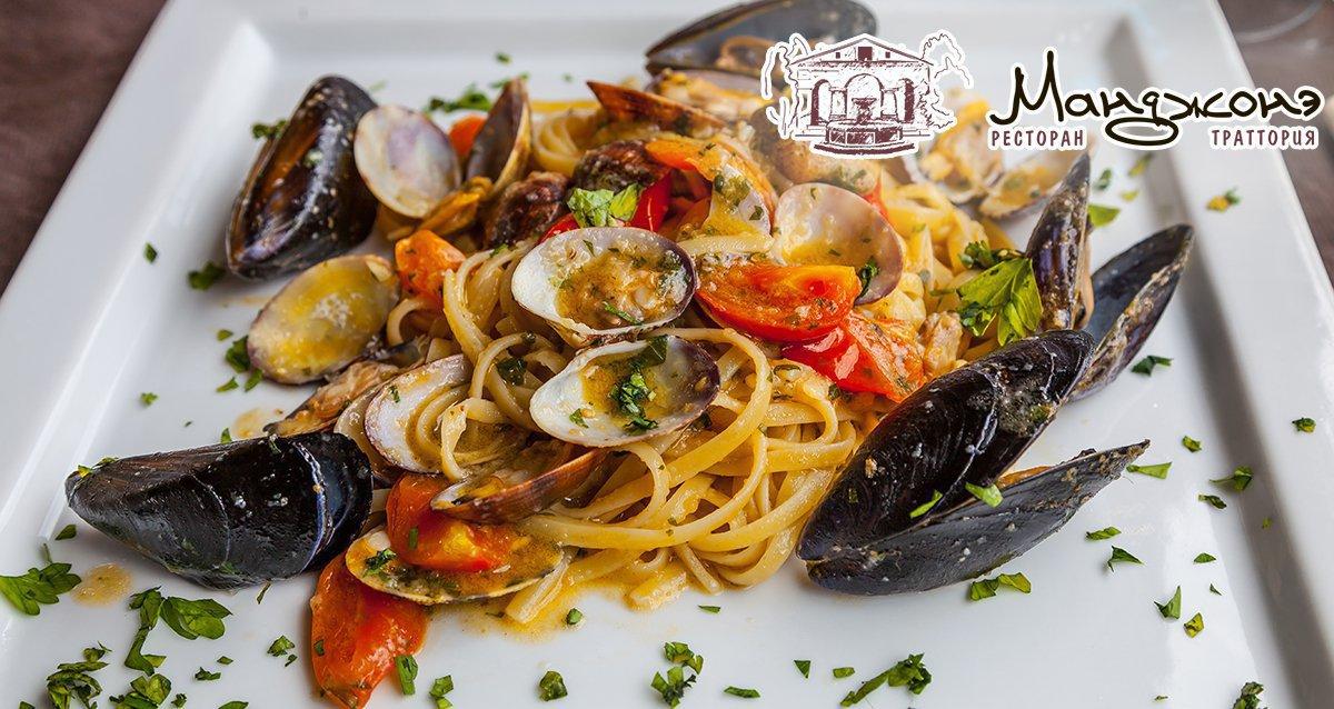 -50% в итальянском ресторане «Манджонэ»