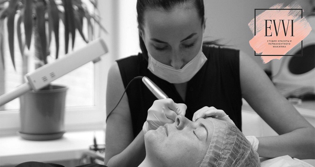 До -85% на татуаж в студии красоты EVVI