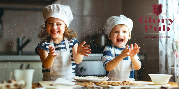 500 р. за детский кулинарный мастер-класс