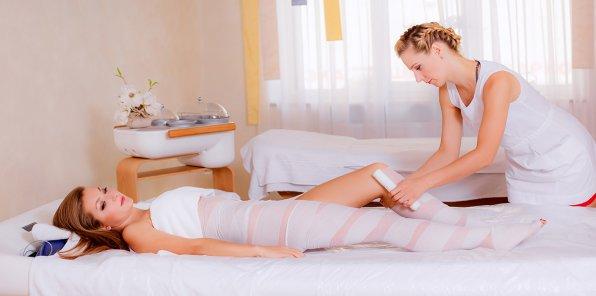 До -50% на обертывания, корректирующий массаж