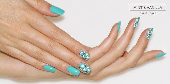 Скидки до 60% на ногтевой сервис в салоне Mint&Vanila