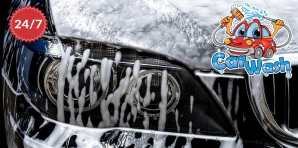 Скидки до 71% на услуги автомоечного центра CarPool