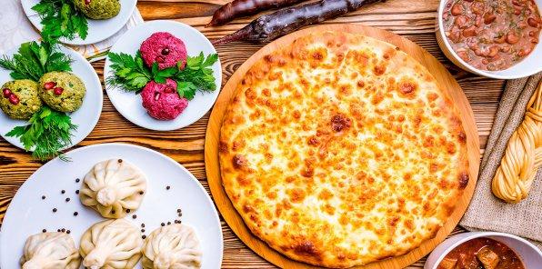 Скидки до 50% в кафе грузинской кухни «Хванчкара»