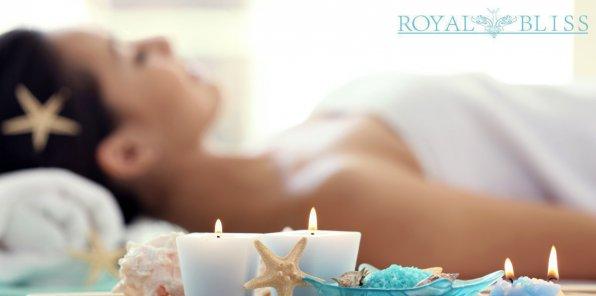 Скидки до 50% в ROYAL BLISS Massage and SPA