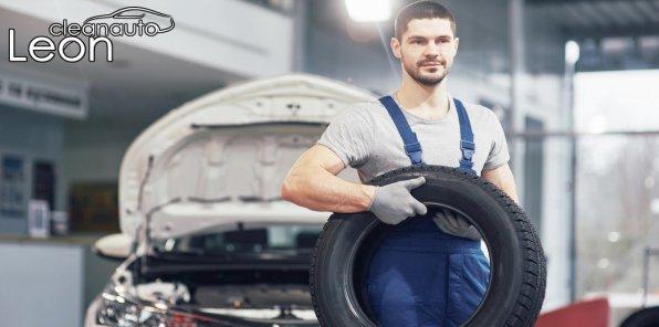 Скидки до 50% на шиномонтаж в автоцентре Leon Cleanauto