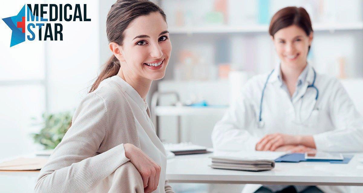 Скидки до 78% на обследования для женщин в Medical Star