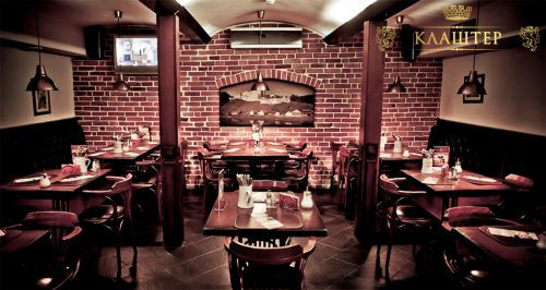Скидка 40% на меню и напитки в ресторане «Клаштер»