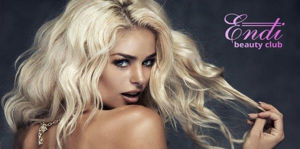 Скидки до 80% на услуги для волос в салоне Endi