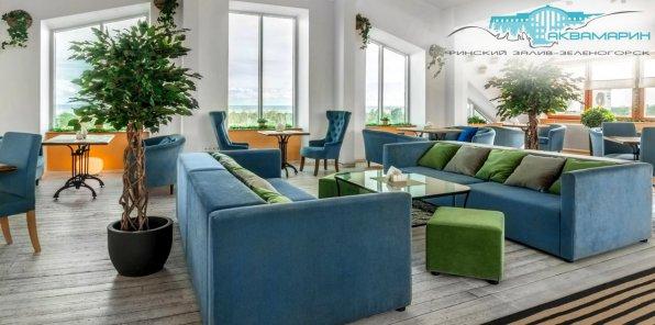 Скидка 55% на отдых в отеле «Аквамарин» + питание + SPA