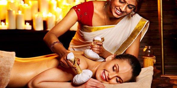 Скидки до 65% на индийский, аюрведический массаж