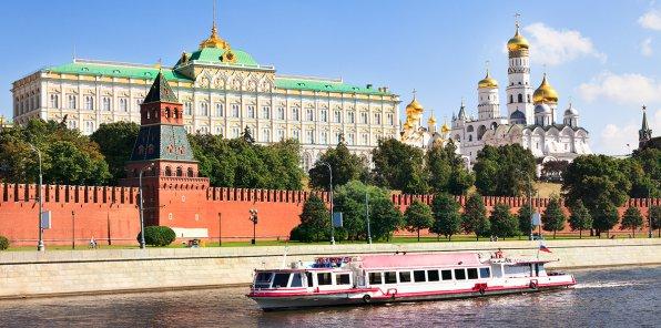 Скидки до 50% на прогулку на теплоходе «Москва златоглавая»