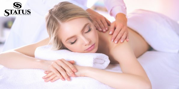 Скидки до 71% на массаж и SPA в салоне красоты Status Professional