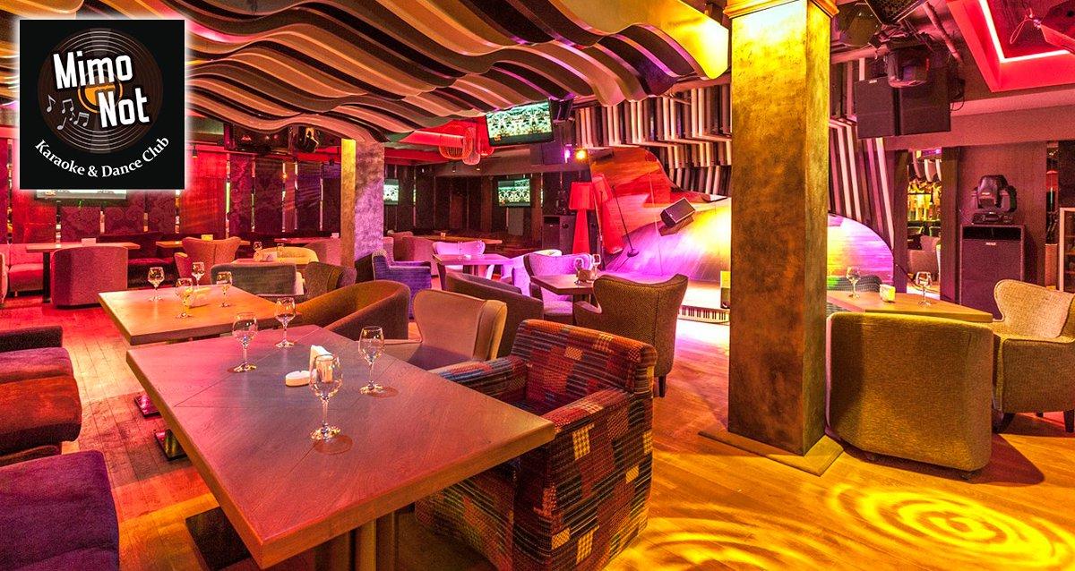 Скидка 40% на меню и 30% на бар в караоке-клубе MimoNot