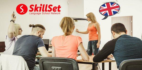 Скидки до 70% на изучение английского в школе SkillSet для детей и взрослых!