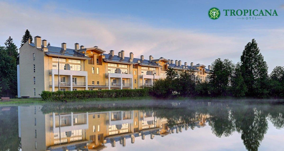 Скидка 30% на отдых в загородном отеле «Тропикана»