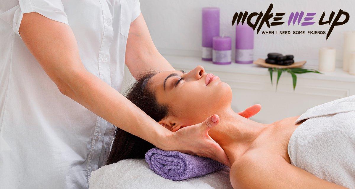 Скидки до 50% на массаж в студии Make Me Up