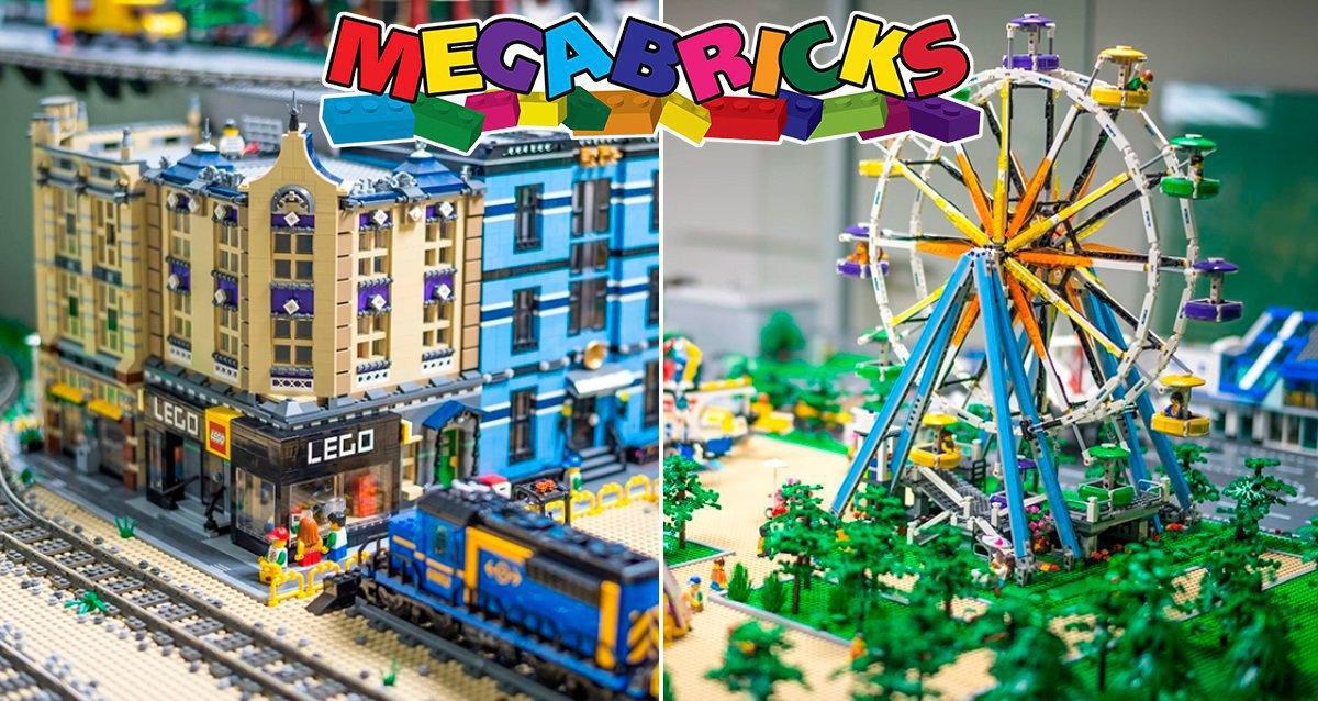 Скидка 50% на посещение музея LEGO Megabricks