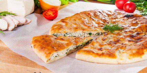 Скидка 70% на осетинские пироги и пиццу