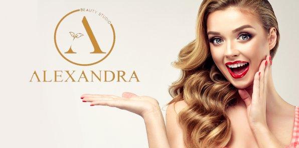 Скидки до 65% на услуги для волос в салоне «Александра»