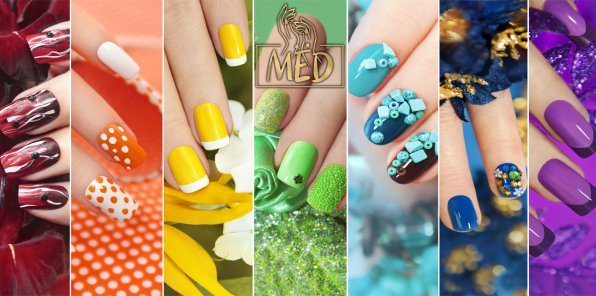 Скидки до 60% на ногтевой сервис в студии красоты «MЁD»