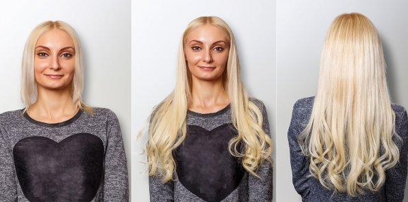 Скидки до 68% на наращивание волос и уход