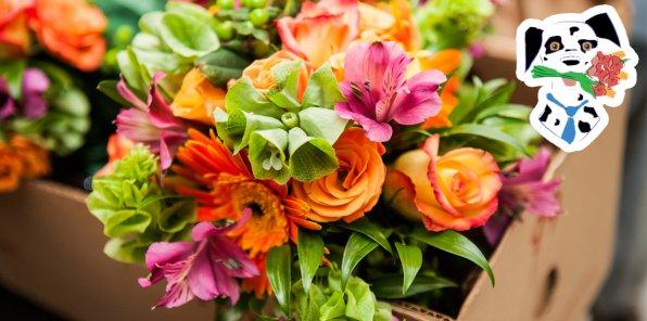 Скидка 30% на букеты от мастерской флориста «Цветы для всех»