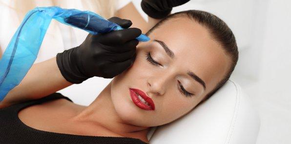 Скидки до 80% на татуаж в сети салонов красоты «Династия»